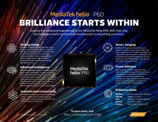 MediaTek aduce inteligenta artificiala pe dispozitivele de clasa de mijloc cu cipul Helio P60