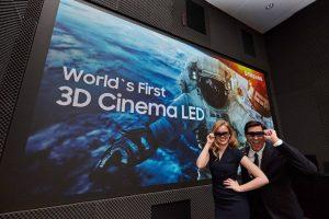 Samsung dezvaluie ecranul 3D urias Cinema LED Screen pentru cinematografe