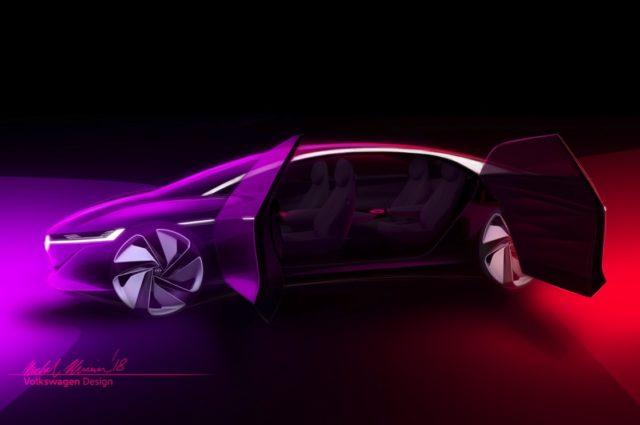 Ultimul concept de masina fara sofer a Volkswagen nu are volan