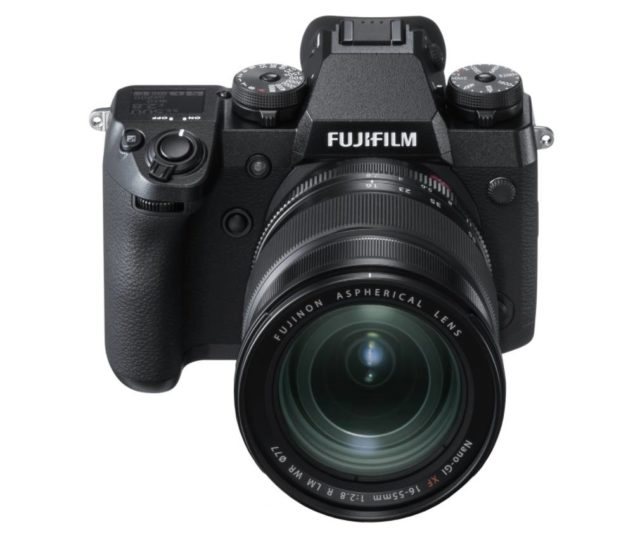 Camera mirrorless Fujifilm X-H1 a fost anuntata oficiala - specificatii si pret