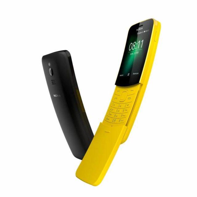 HMD Global produce un alt telefon Nokia clasic, pe Nokia 8810