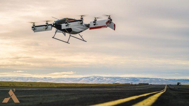 Masina zburatoare Airbus trece primul test de zbor