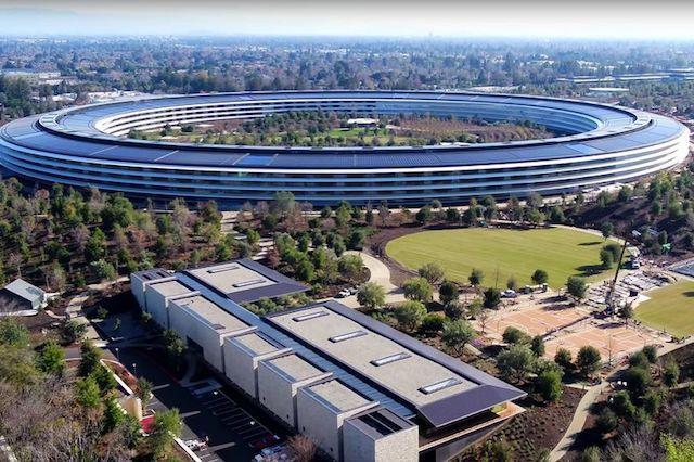 Noul sediu al Apple are panouri din sticla frumoase, dar angajatii se ciocnesc de ele