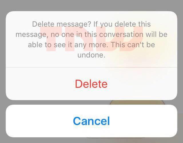 Asa ar putea arata caracteristica Facebook unsend de anulare a mesajelor