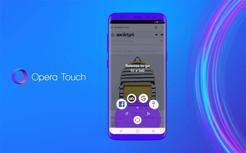 Cum este Opera Touch, cel mai nou browser mobil al companiei