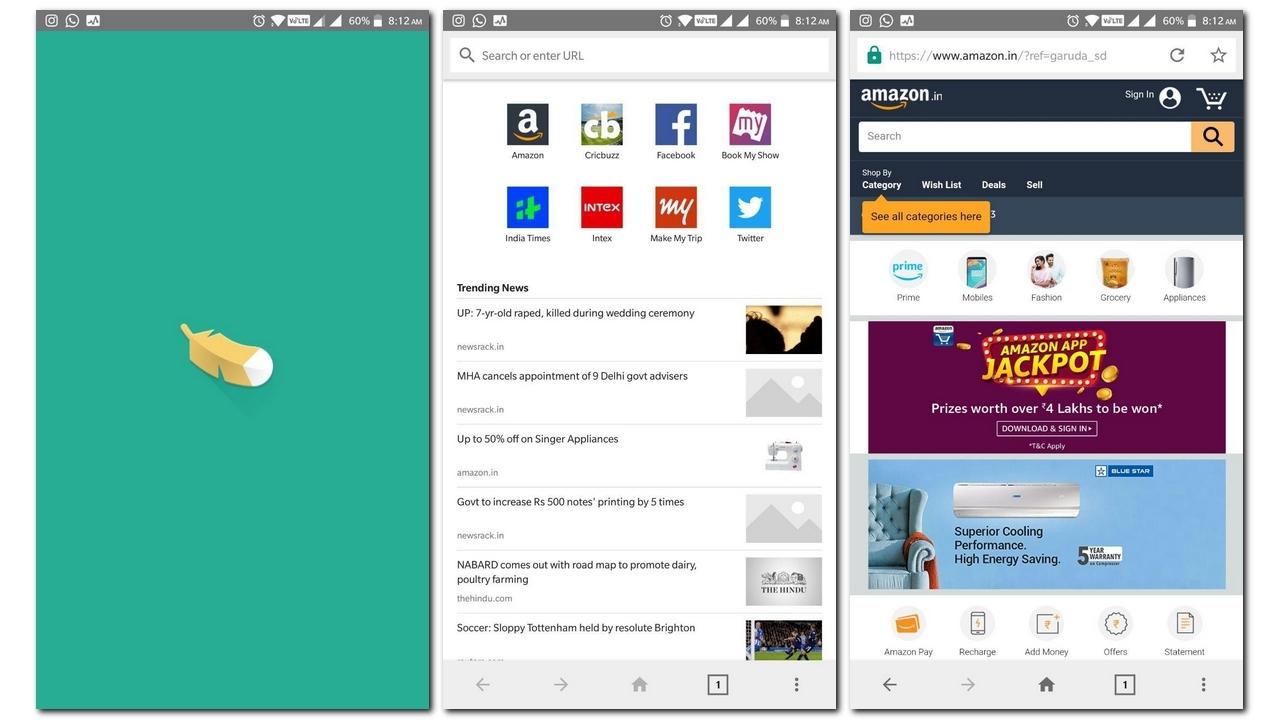 Cum este browserul Internet lite pentru Android al Amazon