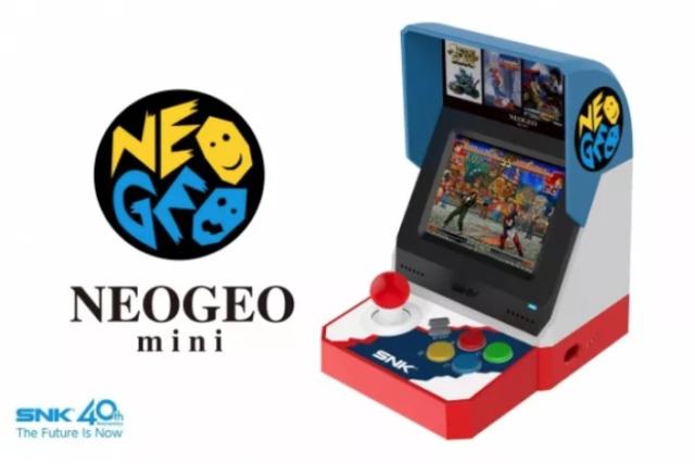 Cu cate jocuri vine noua consola Neo Geo Mini a SNK