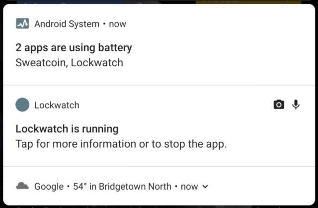 Cum iti arata Android P ce aplicatii de fundal iti folosesc camera sau microfonul
