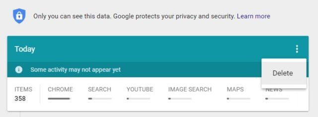 De ce Google usureaza pentru utilizatori stergerea istoricului de cautare