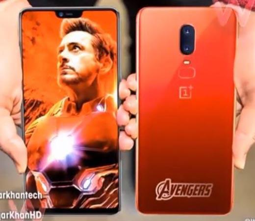 E oficial OnePlus colaboreaza cu Marvel pentru smartphone-ul OnePlus 6 editia Avengers