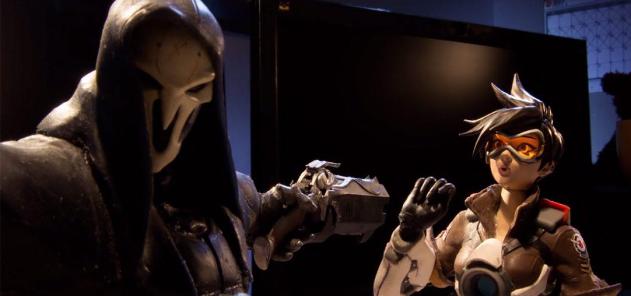 Blizzard lanseaza un clip video stop-motion super-tare pentru jocul Overwatch