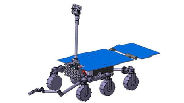 Airbus dezvalui un concept timpuriu al roverului sau pentru Marte