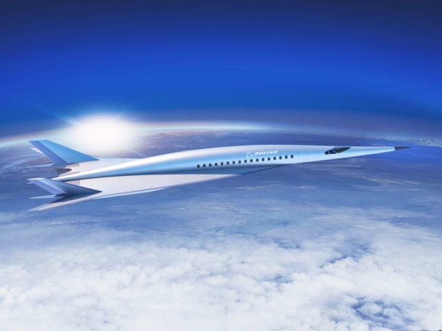 Boeing dezvaluie un concept de avion care zboara cu 6173 de kilometri pe ora