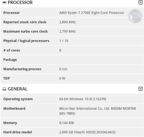 Cat de eficient energetic este noul procesor AMD Ryzen 7 2700E