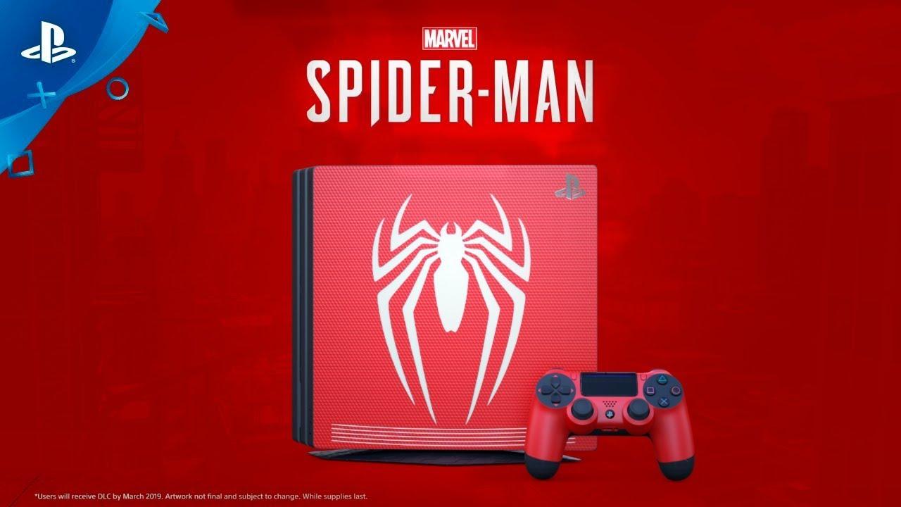 Ce pret ar putea avea consola de jocuri PS4 Pro editie limitata Spider-Man