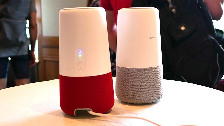 Cum e prima boxa inteligenta a Huawei - AI Cube - care e si router