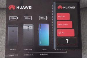 Huawei Mate 20 ar putea avea bateria cu cea mai mare capacitate din gama