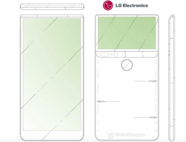 Ce companii ar putea lansa smartphone-uri cu display pe spate - LG