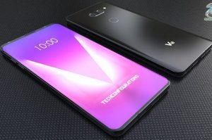 Ce e displayul P-OLED cu care ar putea veni LG V40 ThinQ
