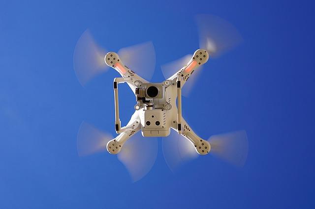 Ce drone ale DJI cad din cer in timpul zborului