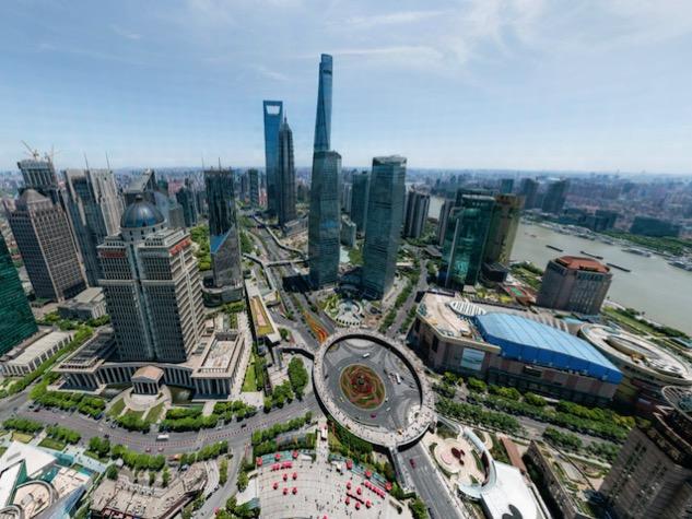 Cum poti vedea imaginea de 195 de miliarde de pixeli cu orasul Shanghai
