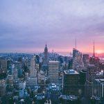Motivul aparitiei luminii albastre pe cerul din New York