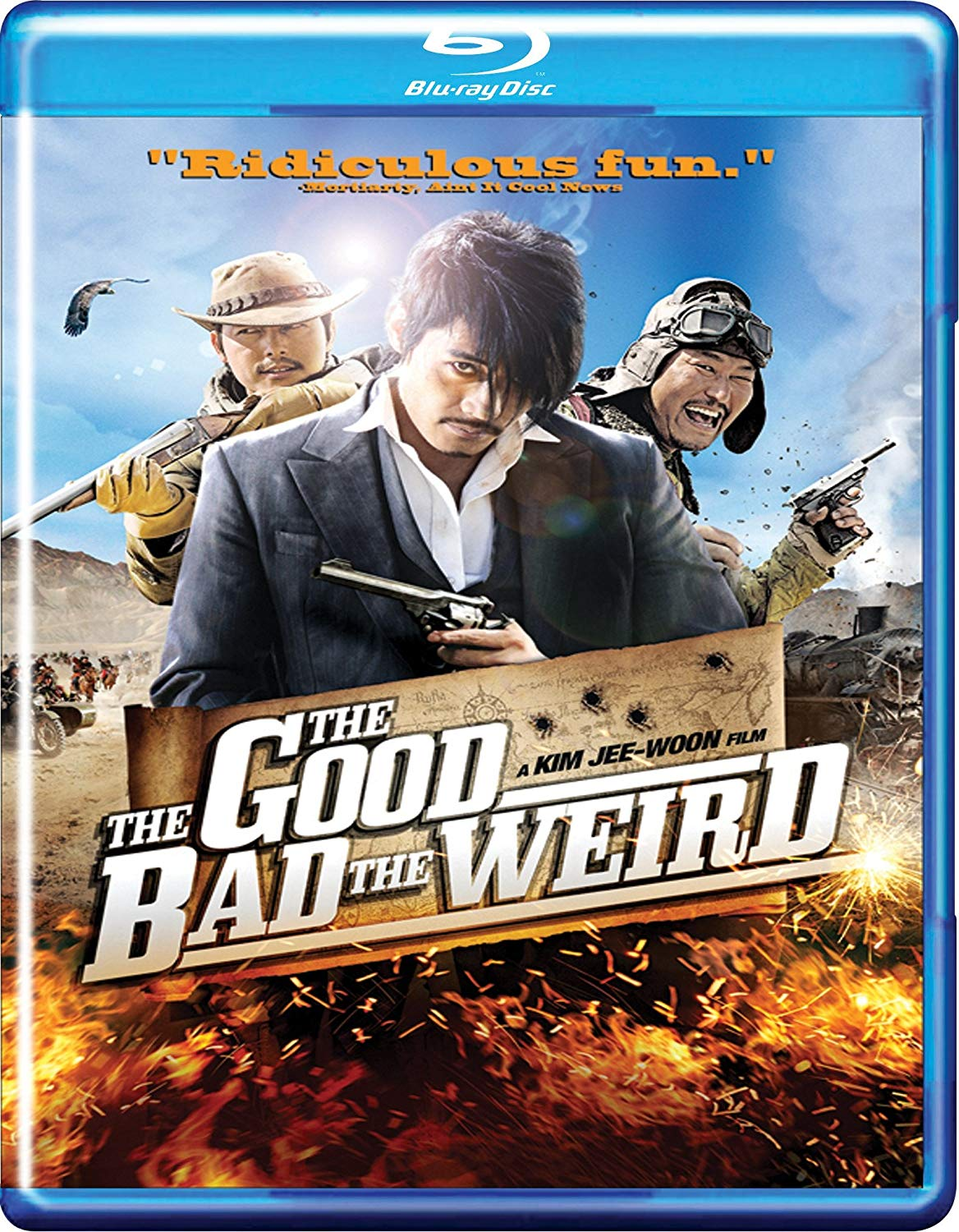 Opinie despre The Good, the Bad, the Weird (2008)
