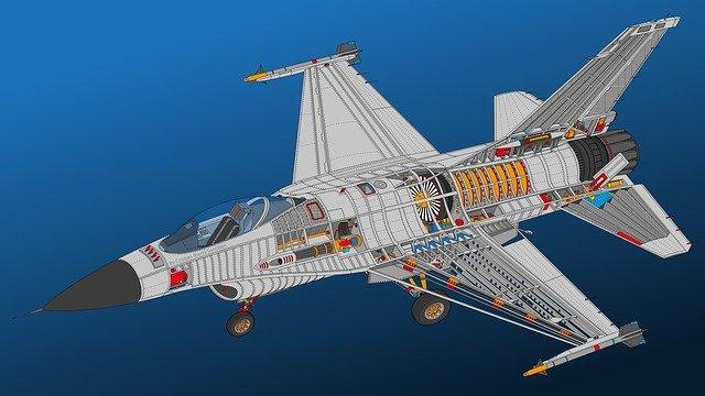 Cum au fost distruse doua avioane militare F-16 aflate la sol in Belgia