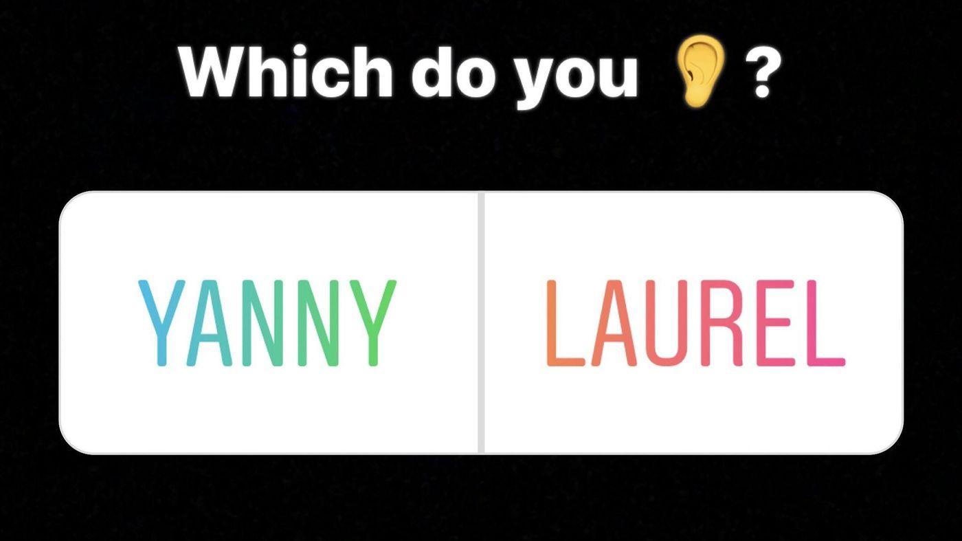 Se aude Laurel sau Yanny