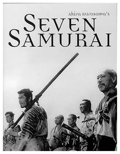 Seven Samurai (Japonia, 1954)