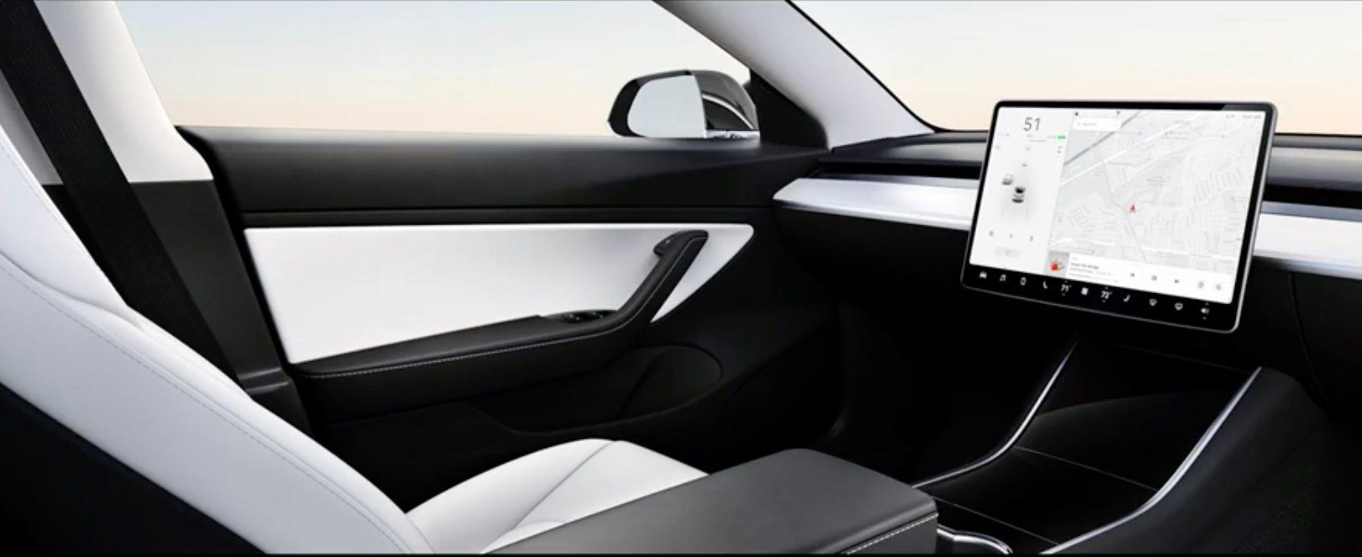 Cum arata conceptul de masina fara volan al Tesla