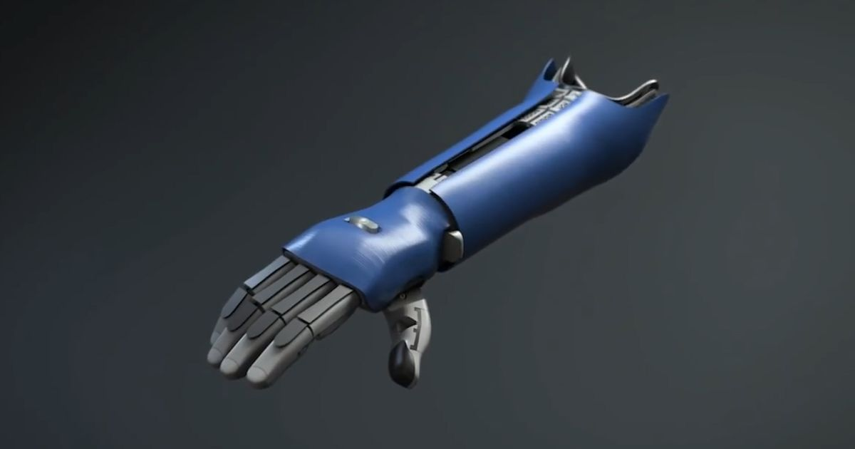Cum e proteza Hero Arm a Open Bionics