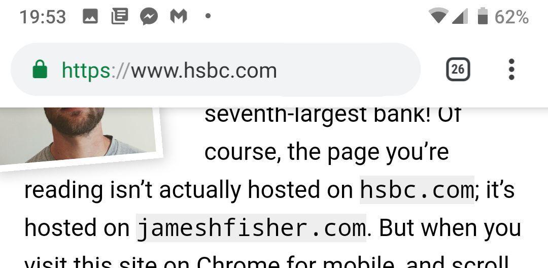 Cum te protejezi de bara de adrese falsa din browserul Chrome care e folosita pentru phishing