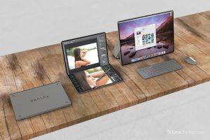 Asa ar putea arata laptopurile Apple MacBook cu ecran pliabil