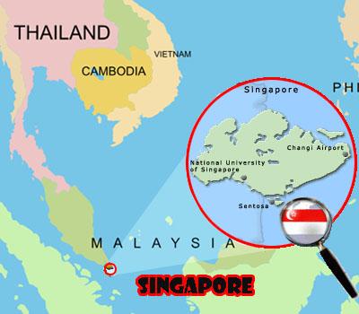 Singapore e printre cele 20 cele mai mici tari din lume