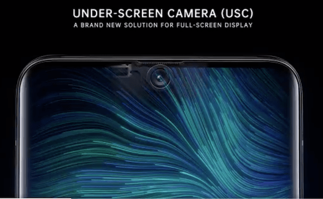 Cum e prima camera frontala sub ecranul unui smartphone al Oppo