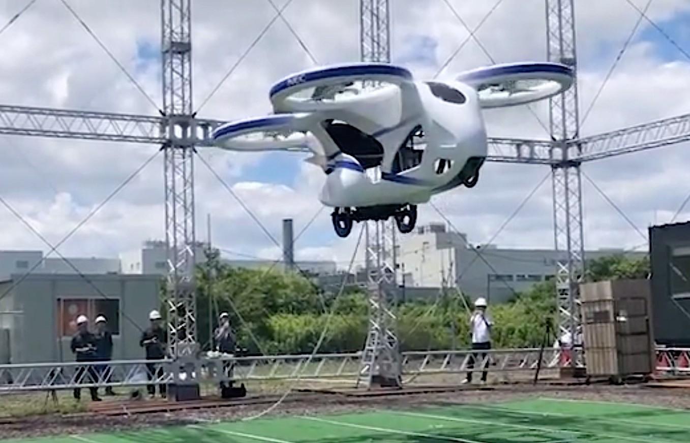 Ce companie japoneza a creat aceasta masina zburatoare din Japonia