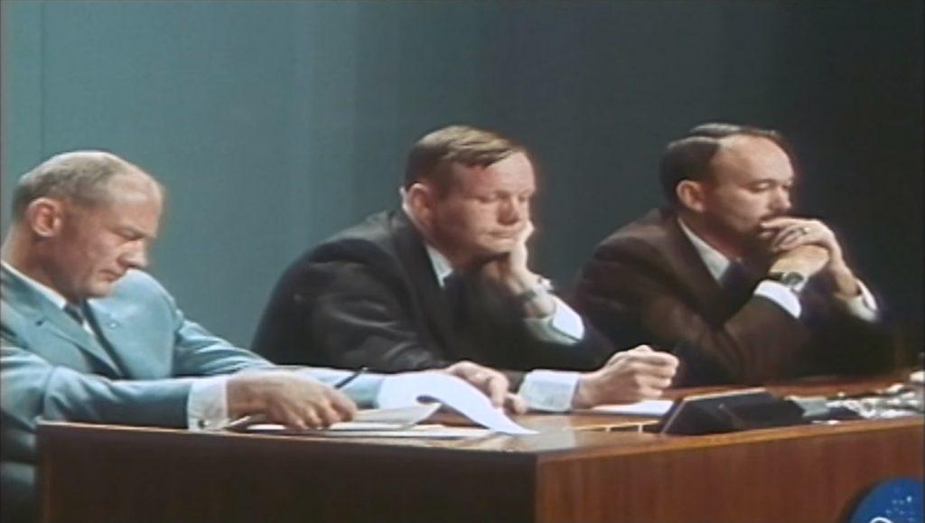 Conferinta de presa Apollo 11