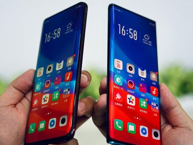 Cum arata smartphone-ul Oppo revolutionar care elimina marginile laterale in intregime
