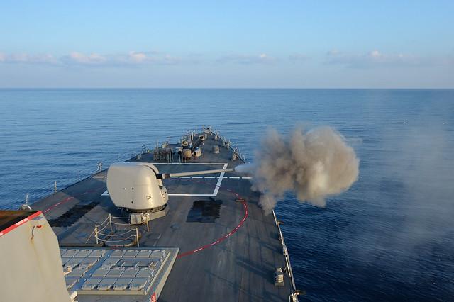 De ce Marina SUA renunta la ecranele touchscreen de pe navele sale
