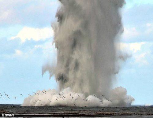 Prin ce metoda ingenioasa se curata minele explozive din anumite zone, mai sigur si mai eficient
