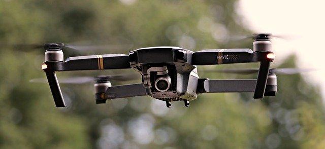 Cum e drona care se lanseaza cu un tun