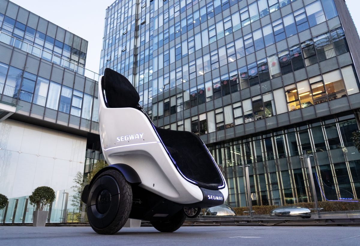 Ce autonomie are vehiculul personal Segway S-Pod