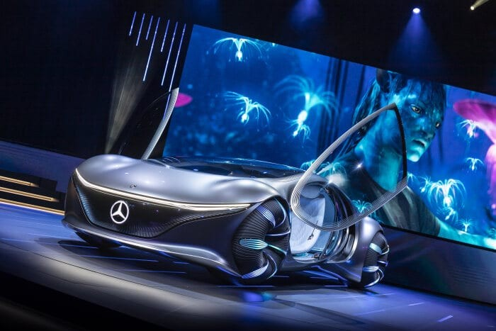 Ce companie a creat masina bazata pe filmul Avatar