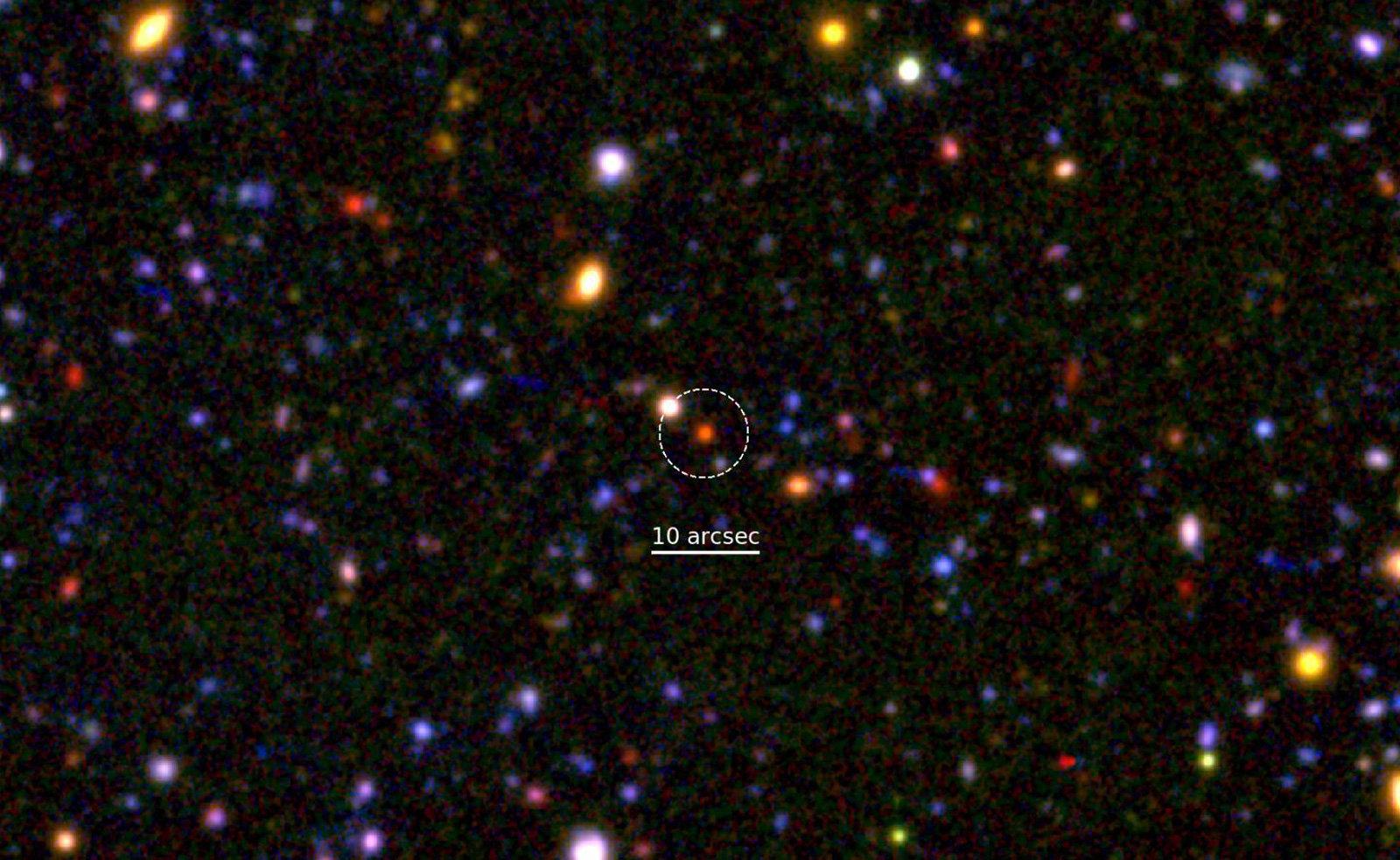 Ce galaxie a fost descoperita la 12 miliarde de ani-lumina de Pamant