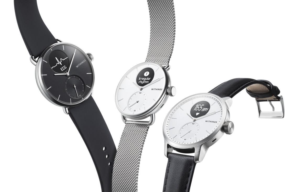 Ce pret are cel mai bun smartwatch pentru sanatate, Withings ScanWatch