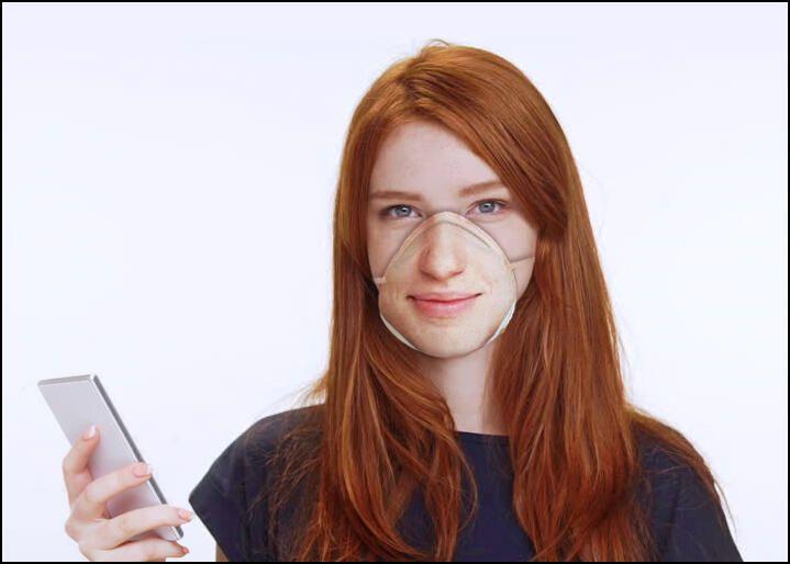 Ce pret are masca medicala care merge cu sistemul Face ID