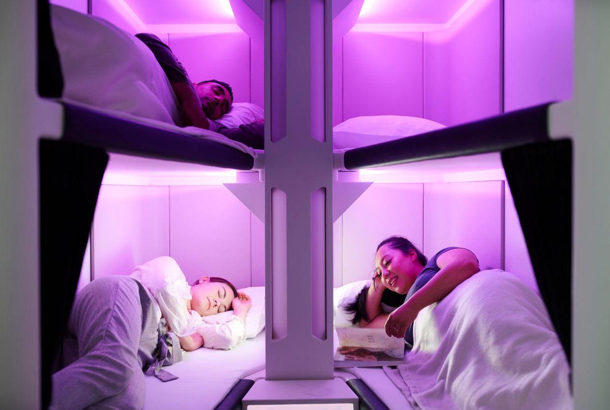 Cum doreste o companie aeriana sa creasca gradul de confort pentru calatori pentru zborurile lungi
