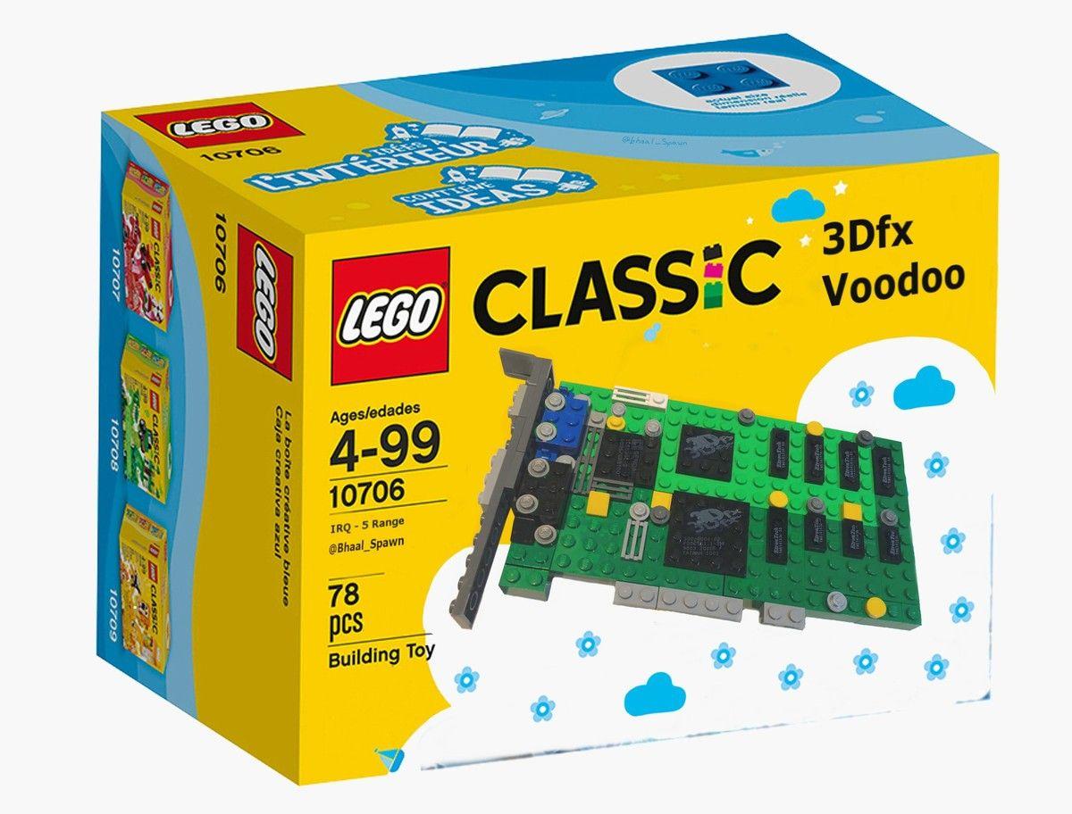 Placa grafica care ar putea deveni piesa LEGO