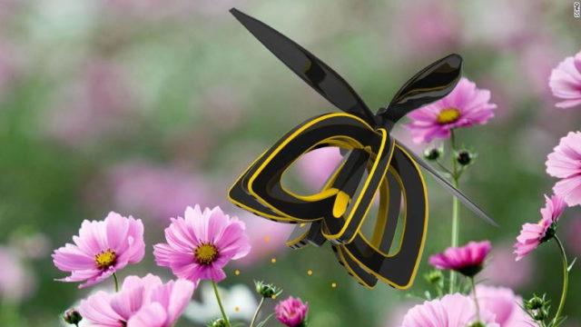 Asa arata drona care poate poleniza culturile de plante